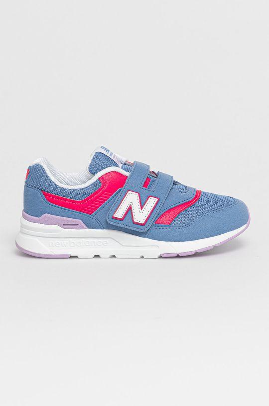 fioletowy New Balance - Buty dziecięce PZ997HSP Dziewczęcy
