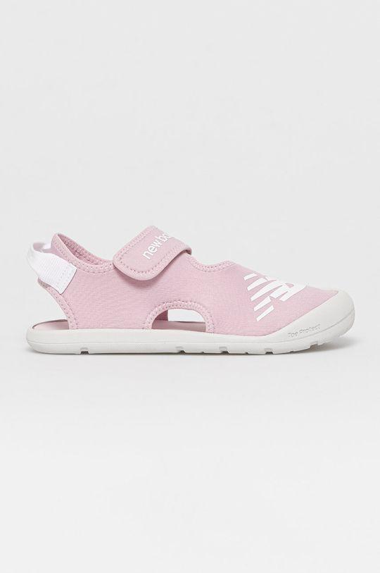 růžová New Balance - Dětské sandály YOCRSRPP Dívčí