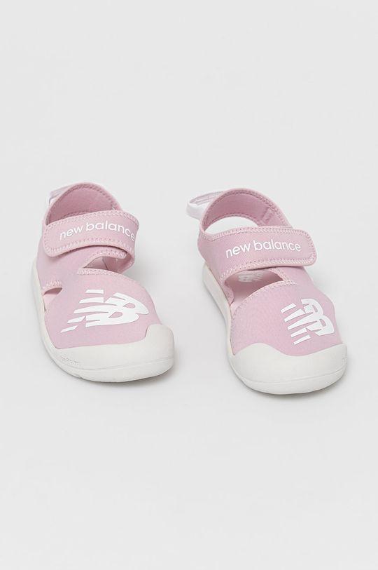 New Balance - Dětské sandály YOCRSRPP růžová