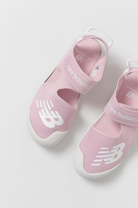 růžová New Balance - Dětské sandály YOCRSRPP