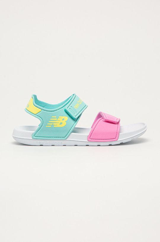 světle modrá New Balance - Dětské sandály YOSPSDCY Dívčí