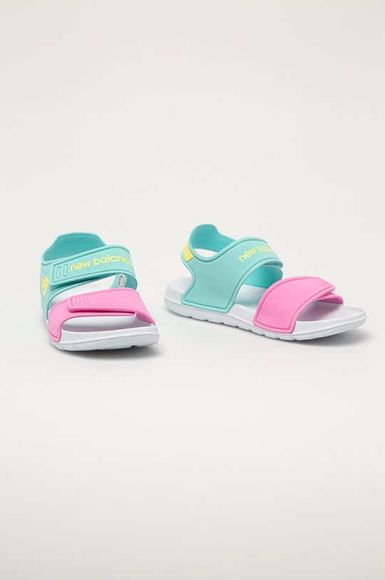 New Balance - Dětské sandály YOSPSDCY světle modrá
