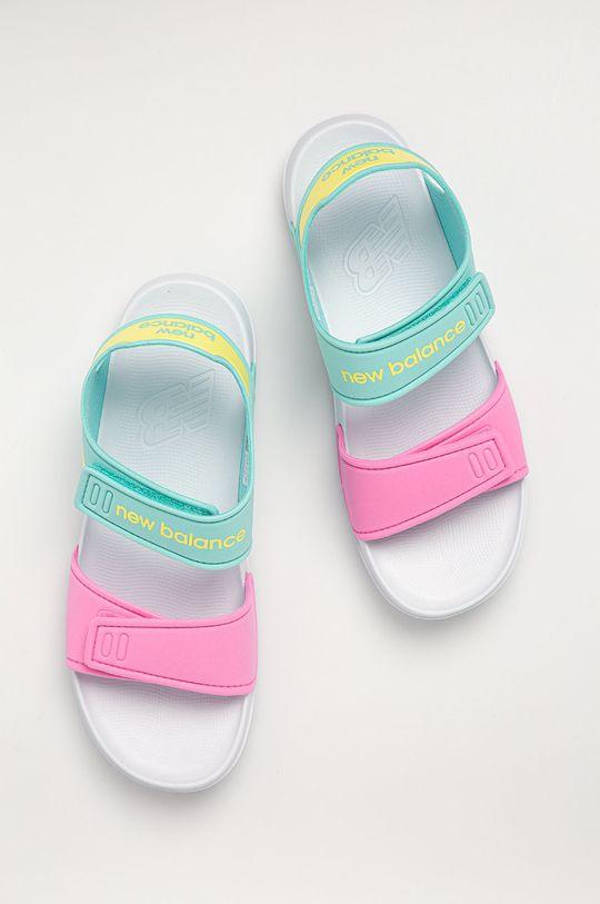 světle modrá New Balance - Dětské sandály YOSPSDCY