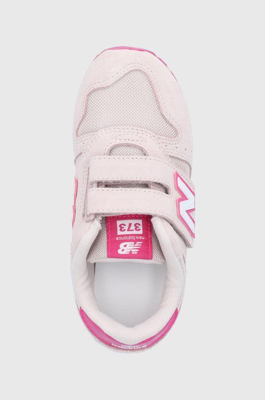 różowy New Balance - Buty dziecięce YV373SPW