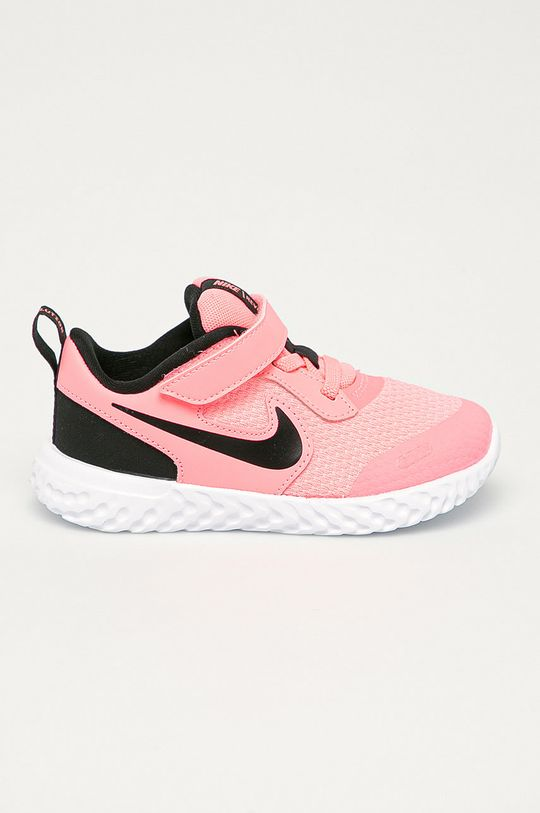 ružová Nike Kids - Detské topánky Revolution 5 Dievčenský