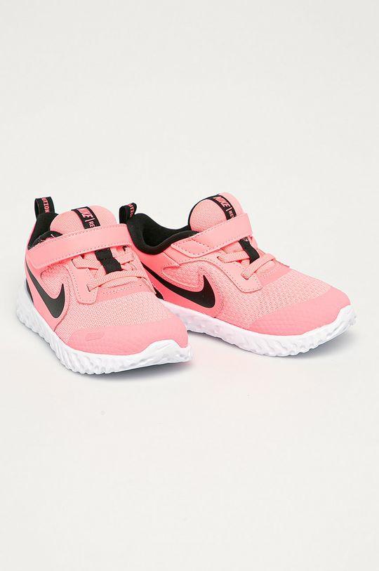 Nike Kids - Detské topánky Revolution 5 ružová
