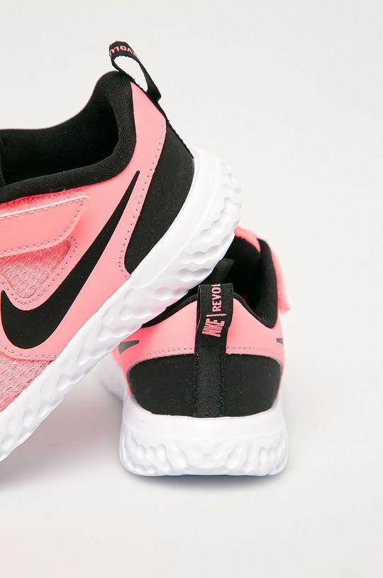 Nike Kids - Detské topánky Revolution 5  Zvršok: Textil, Prírodná koža Vnútro: Textil Podrážka: Syntetická látka