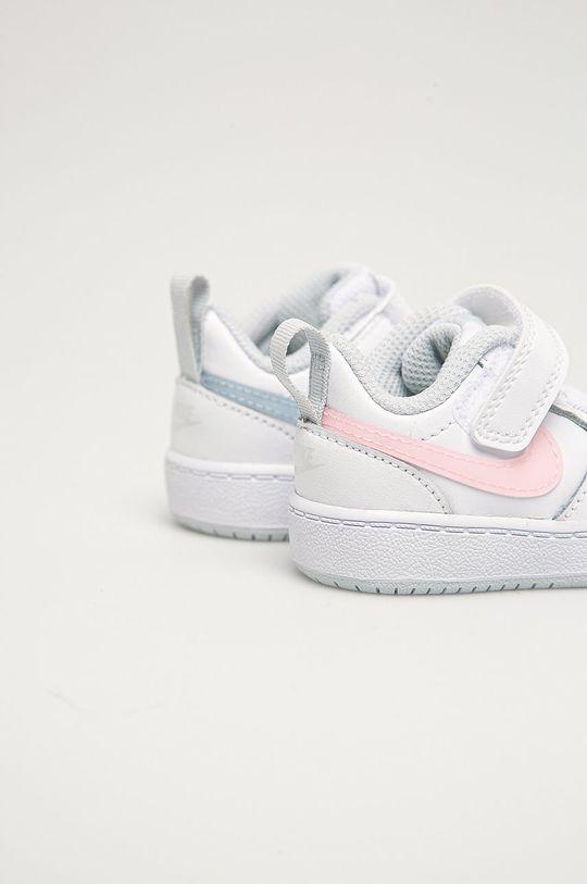 Nike Kids - Dětské boty Court Borough  Svršek: Umělá hmota, Přírodní kůže Vnitřek: Textilní materiál Podrážka: Umělá hmota