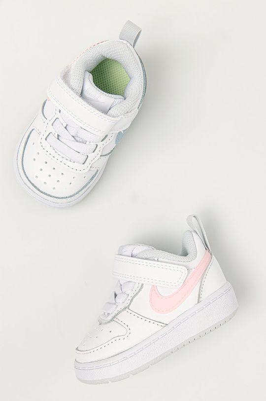 Nike Kids - Dětské boty Court Borough Dívčí