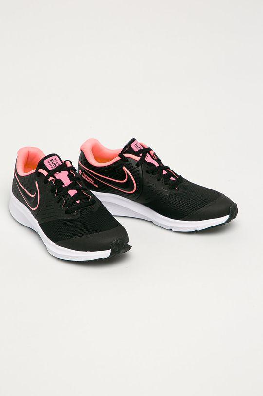 Nike Kids - Dětské boty Star Runner 2 černá