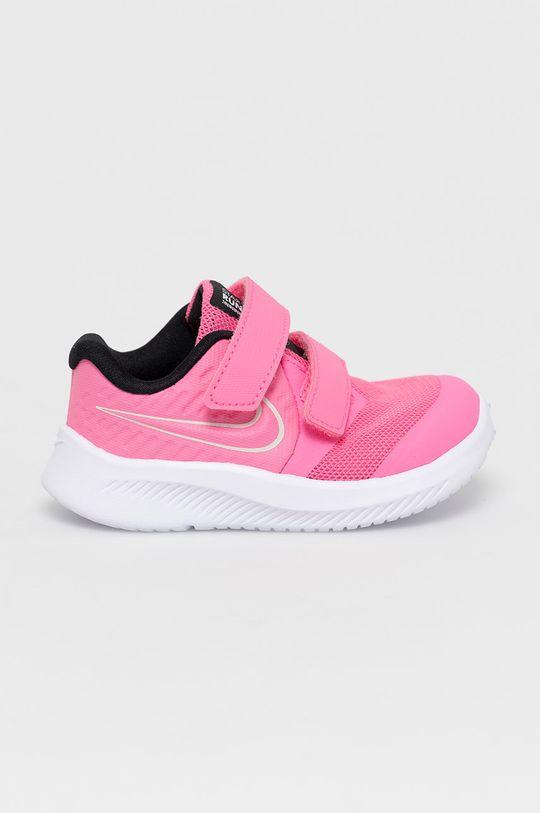 sýto ružová Nike Kids - Detské topánky Star Runner 2 Dievčenský