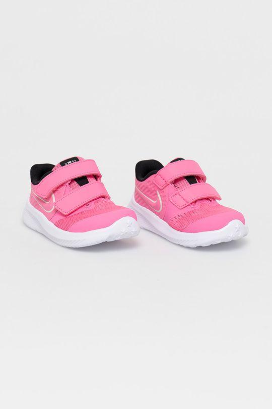 Nike Kids - Detské topánky Star Runner 2 sýto ružová