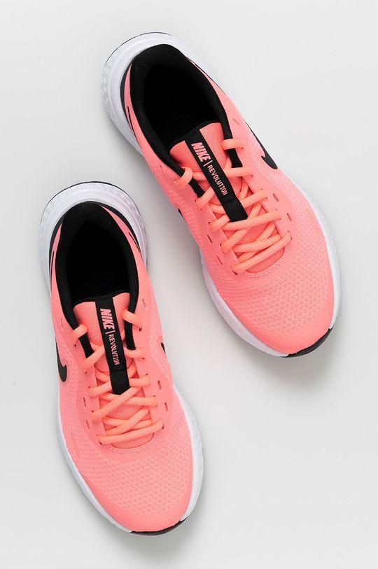 ostrá růžová Nike Kids - Dětské boty Revolution 5