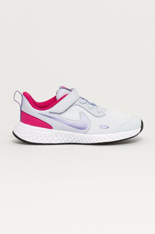 světle šedá Nike Kids - Dětské boty Revolution 5 Dívčí