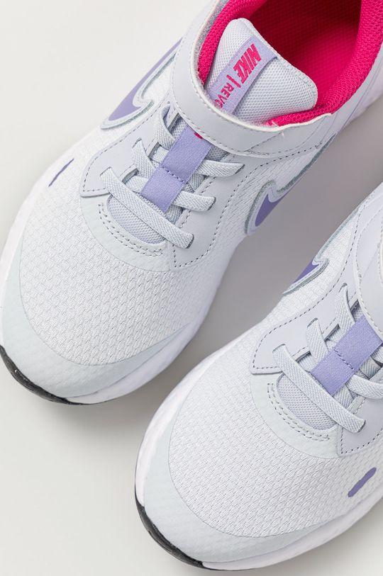 světle šedá Nike Kids - Dětské boty Revolution 5