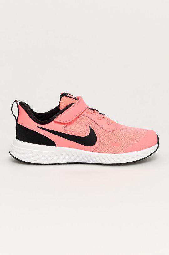 růžová Nike Kids - Dětské boty Revolution 5 Dívčí