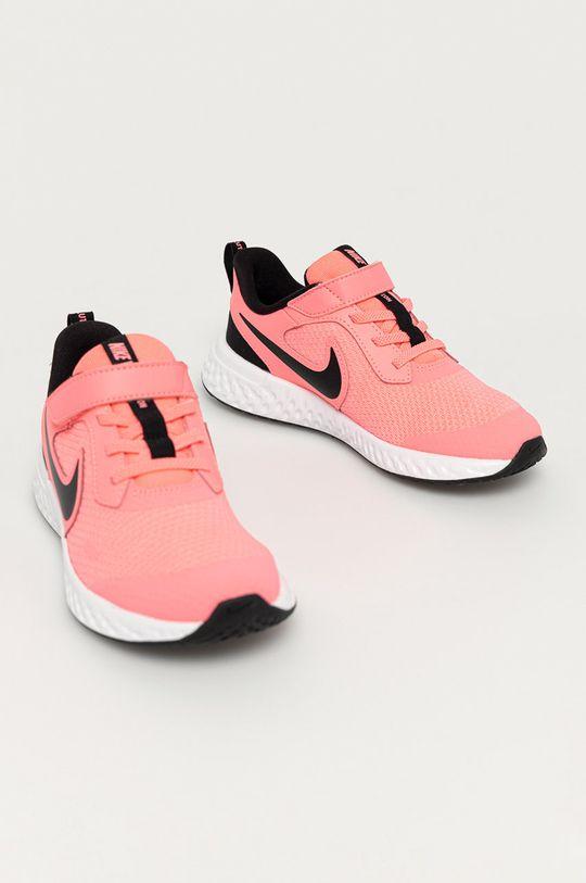 Nike Kids - Dětské boty Revolution 5 růžová
