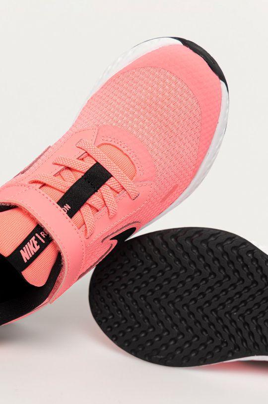 růžová Nike Kids - Dětské boty Revolution 5