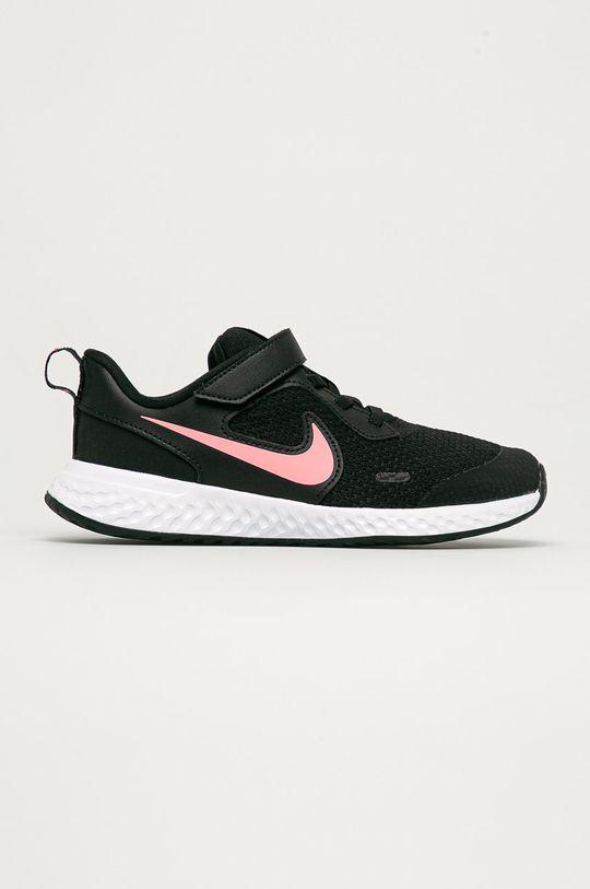 černá Nike Kids - Dětské boty Revolution 5 Dívčí