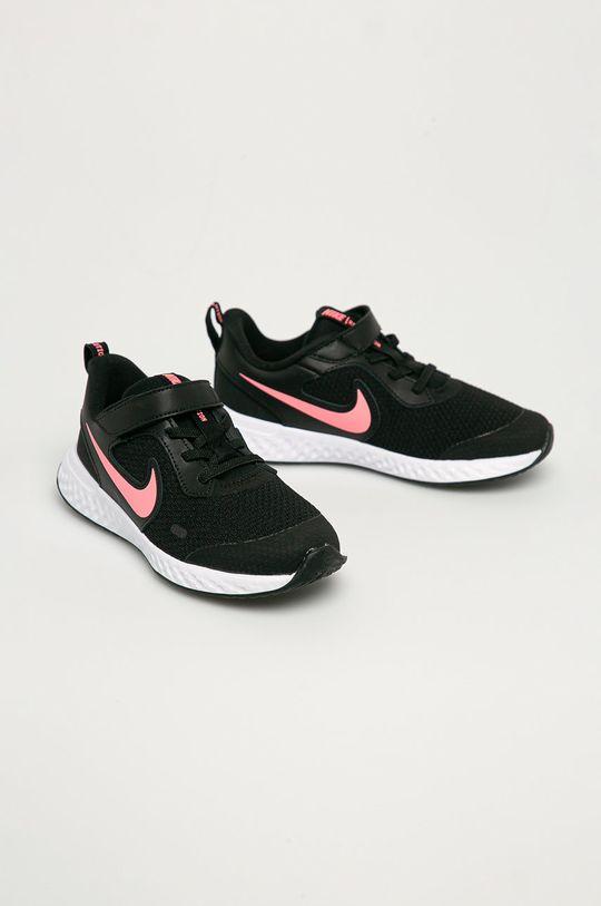 Nike Kids - Dětské boty Revolution 5 černá