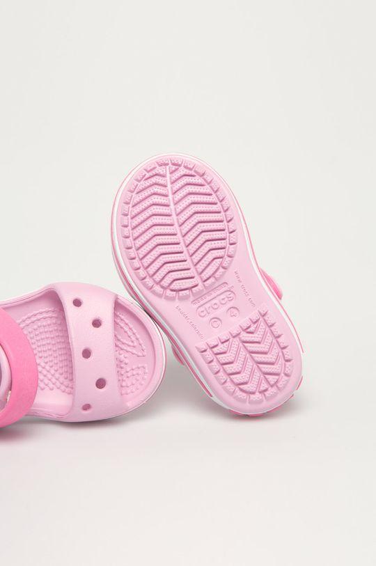 pastelowy różowy Crocs - Sandały dziecięce
