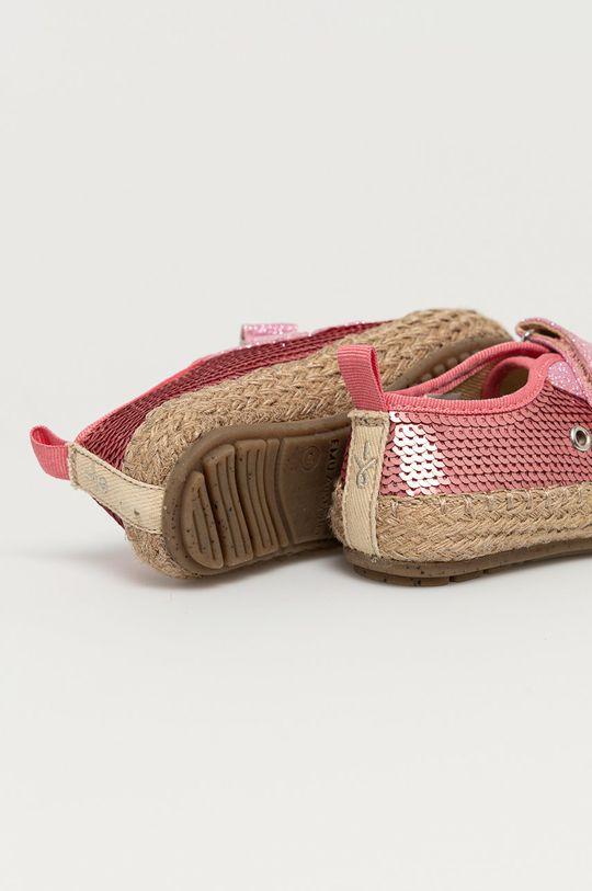 Emu Australia - Espadryle dziecięce Millner Sequin Cholewka: Materiał syntetyczny, Materiał tekstylny, Wnętrze: Materiał tekstylny, Podeszwa: Materiał syntetyczny