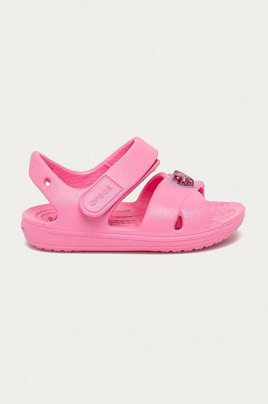 růžová Crocs - Dětské sandály Dívčí