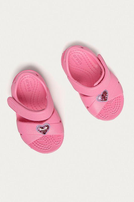 Crocs - Dětské sandály růžová