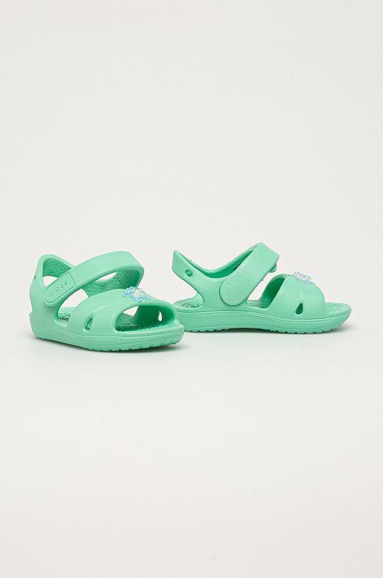 Crocs - Dětské sandály tyrkysová
