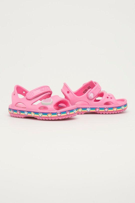 Crocs - Detské sandále ružová