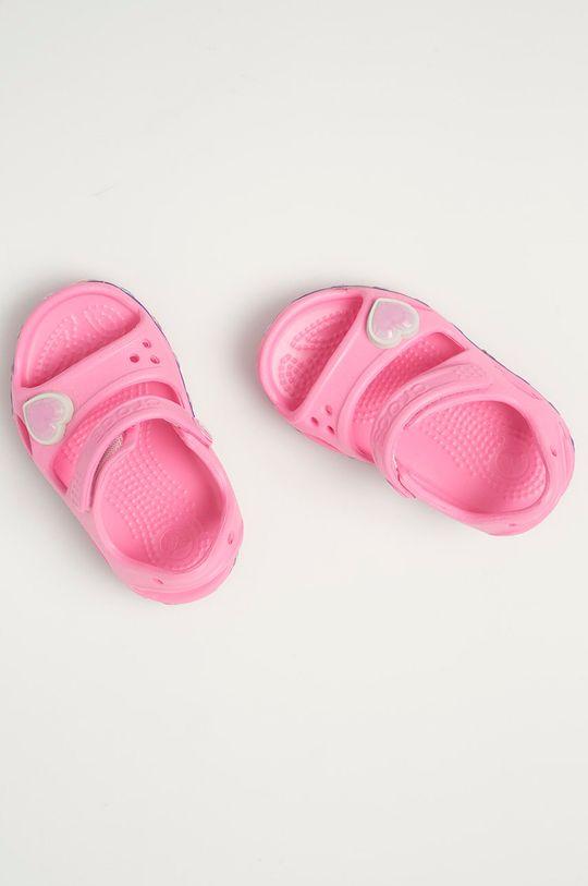 ružová Crocs - Detské sandále