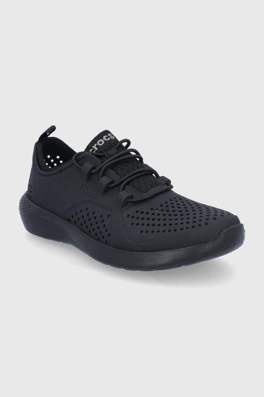 Crocs - Buty dziecięce Lite Ride Pancer czarny