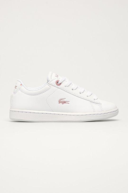biela Lacoste - Detské topánky Dievčenský