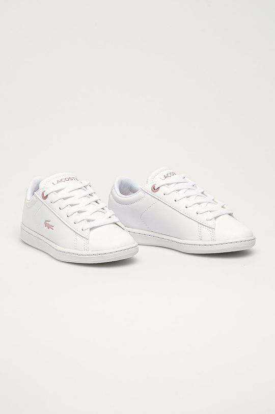 Lacoste - Detské topánky biela