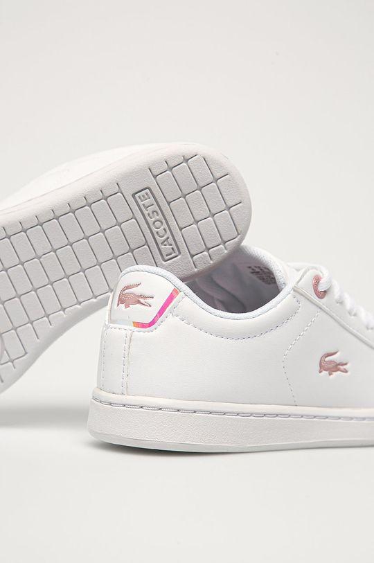 Lacoste - Detské topánky  Zvršok: Syntetická látka Vnútro: Textil Podrážka: Syntetická látka