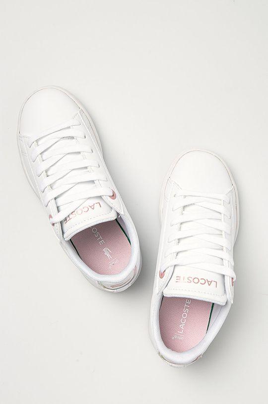 biela Lacoste - Detské topánky