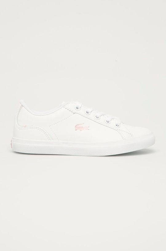 bílá Lacoste - Dětské boty Powercourt Dívčí