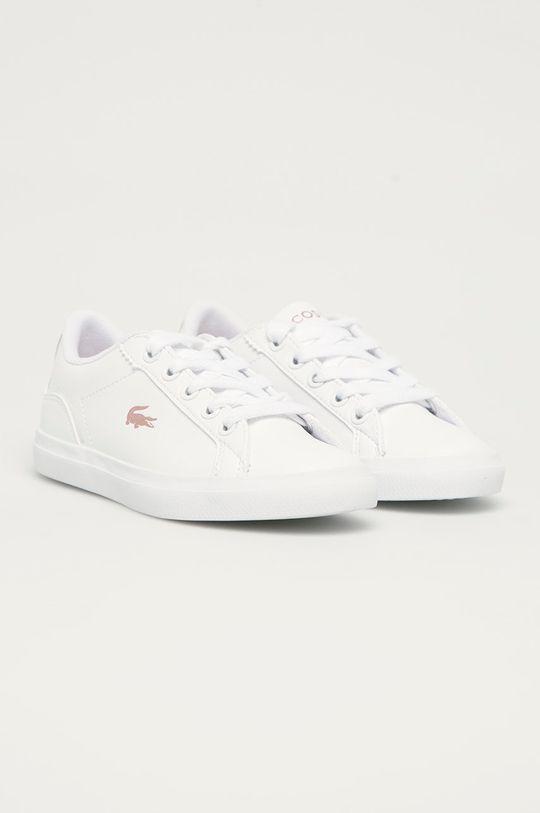 Lacoste - Dětské boty Powercourt bílá