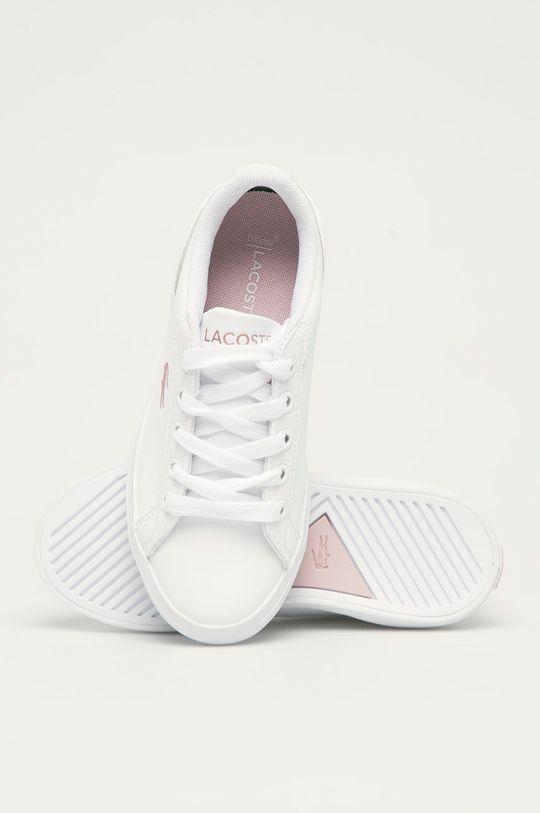 bílá Lacoste - Dětské boty Powercourt