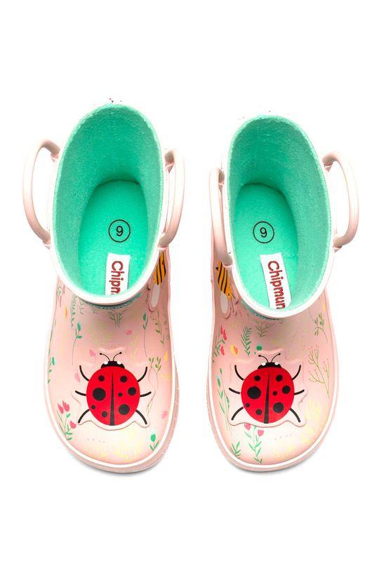 pastelově růžová Chipmunks - Dětské holínky CHELSEA