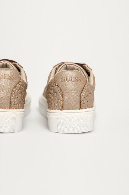 Guess - Detské topánky  Zvršok: Syntetická látka Vnútro: Textil, Prírodná koža Podrážka: Syntetická látka