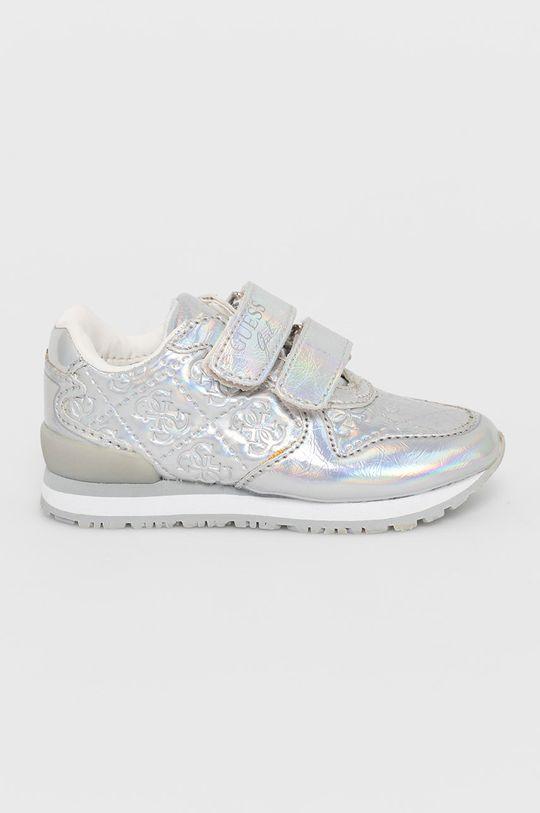 stříbrná Guess - Dětské boty Dívčí