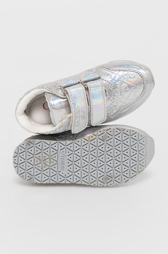 stříbrná Guess - Dětské boty