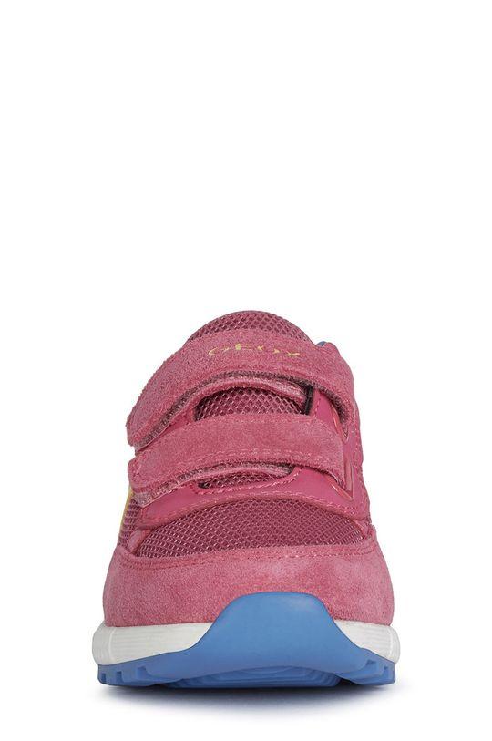Geox - Detské topánky  Zvršok: Syntetická látka, Textil, Semišová koža Vnútro: Textil Podrážka: Syntetická látka