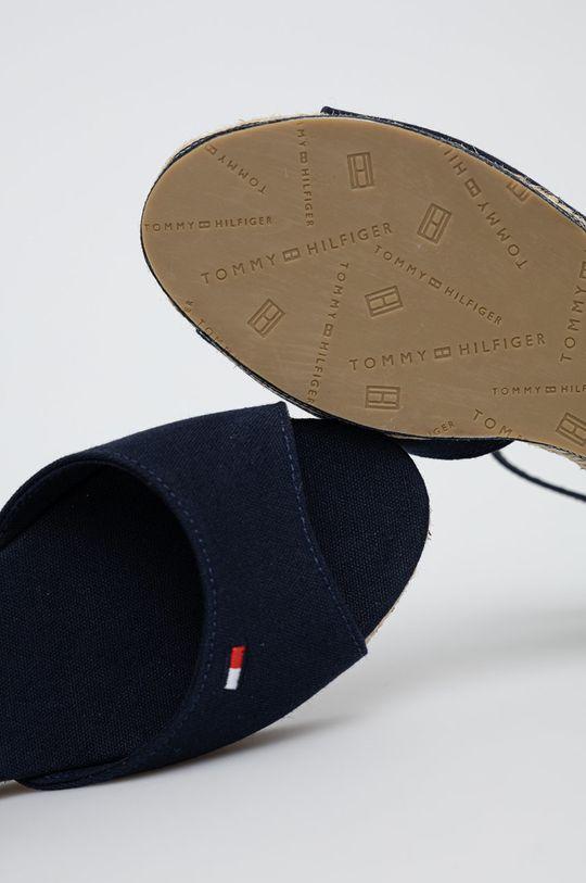 námořnická modř Tommy Hilfiger - Dětské sandály