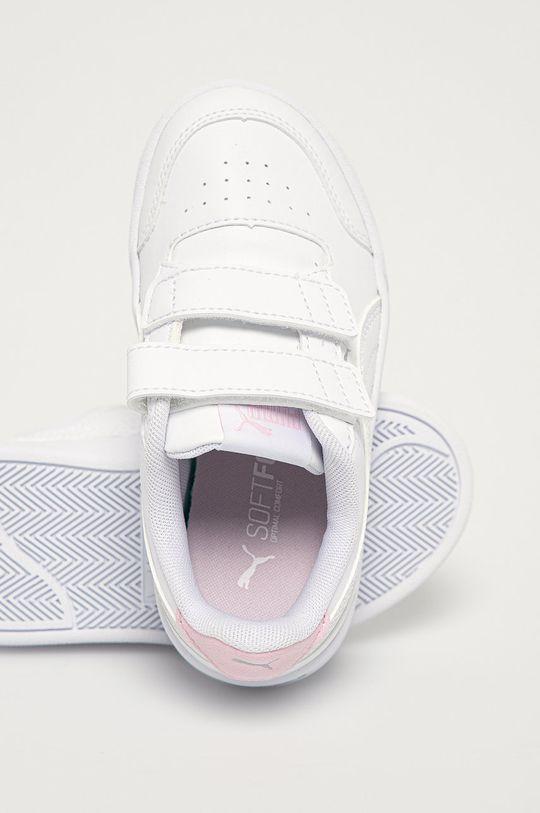 biały Puma - Buty dziecięce Shuffle V PS