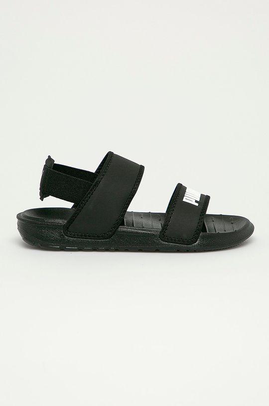 čierna Puma - Detské sandále Soft Detský