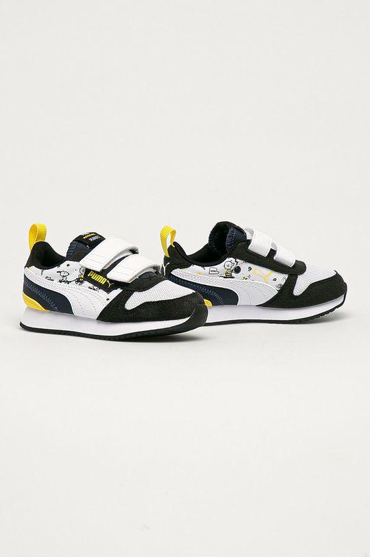 Puma - Detské topánky x Peanuts biela