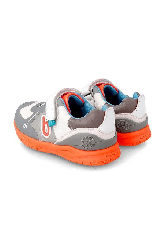 Biomecanics - Dětské boty  Svršek: Umělá hmota, Textilní materiál Podrážka: Umělá hmota Vložka: Přírodní kůže