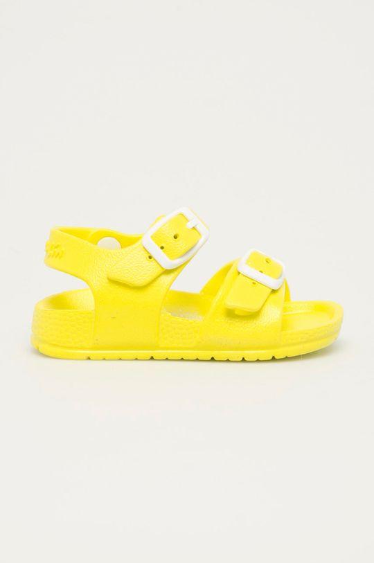 jasně žlutá Garvalin - Dětské sandály Dětský